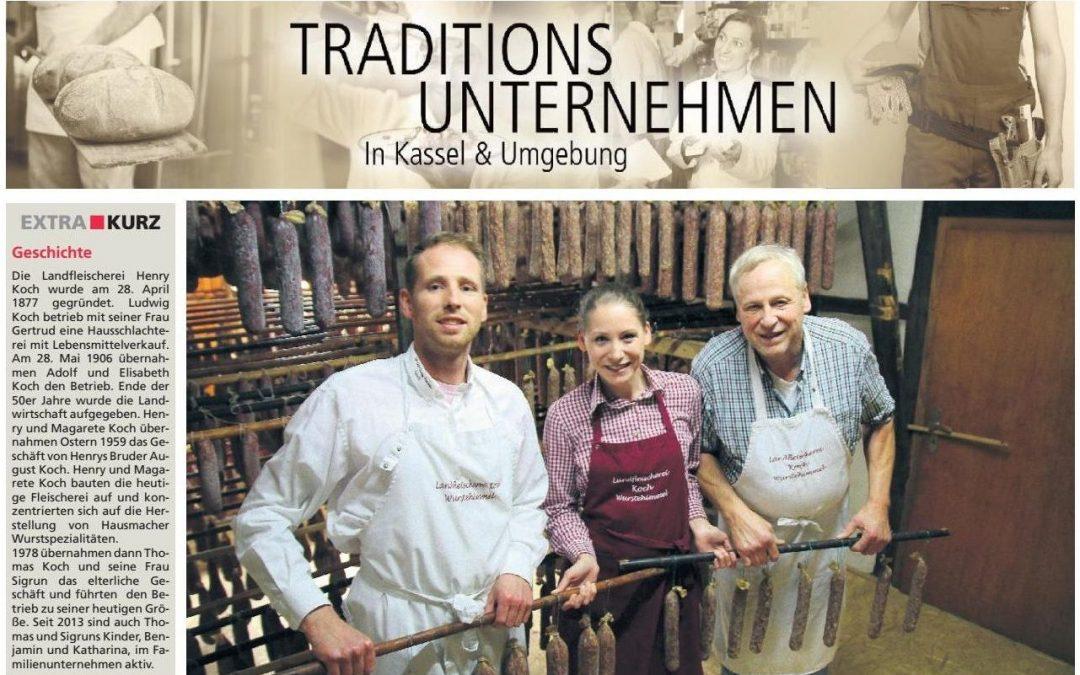 Traditionsunternehmen in Kassel und Umgebung (Extra Tip, 24.05.2017)