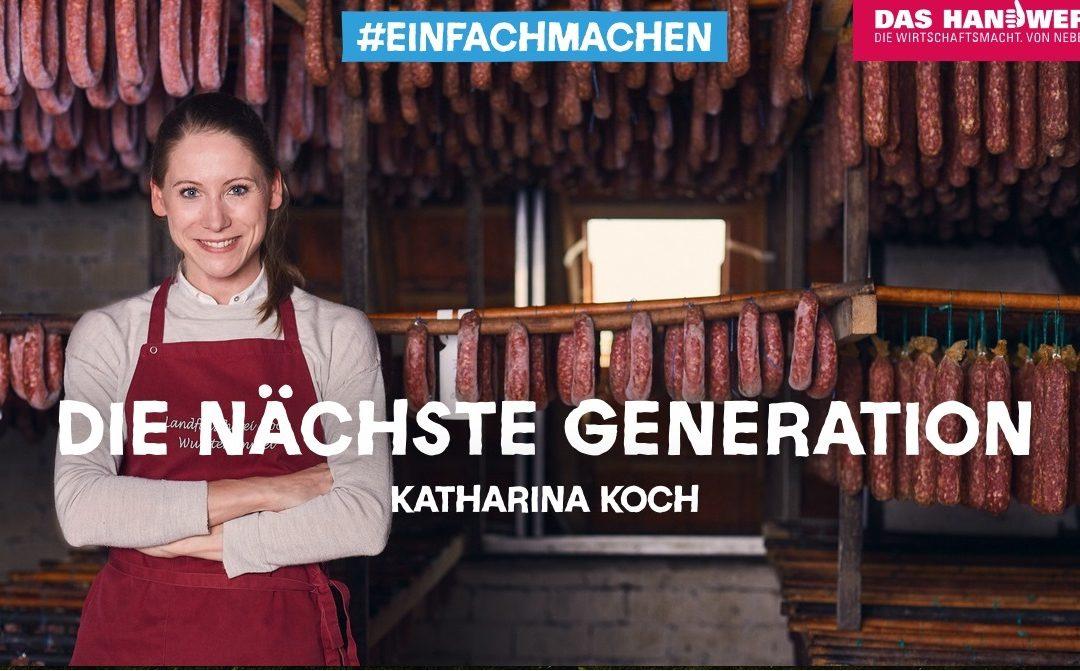 Das Handwerk – Die nächste Generation – Interview mit Katharina Koch