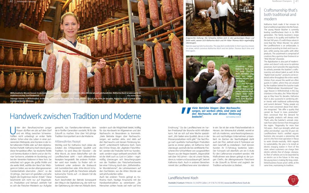 Handwerk zwischen Tradition und Moderne (Nordhessen Champions 2019)