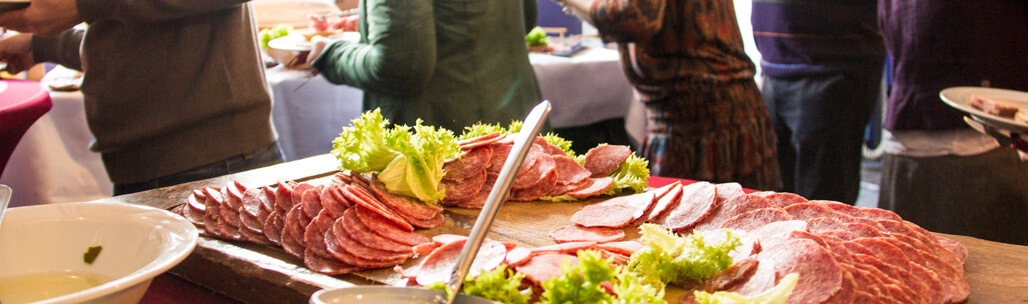 Partyservice Ahle Wurst Buffet
