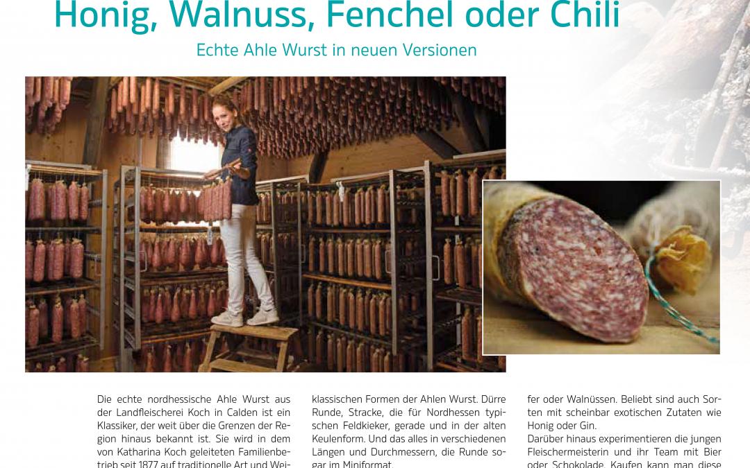 Honig, Walnuss, Fenchel oder Chili (StadtZeit Kassel Magazin No. 98 | Juni Juli 2020)