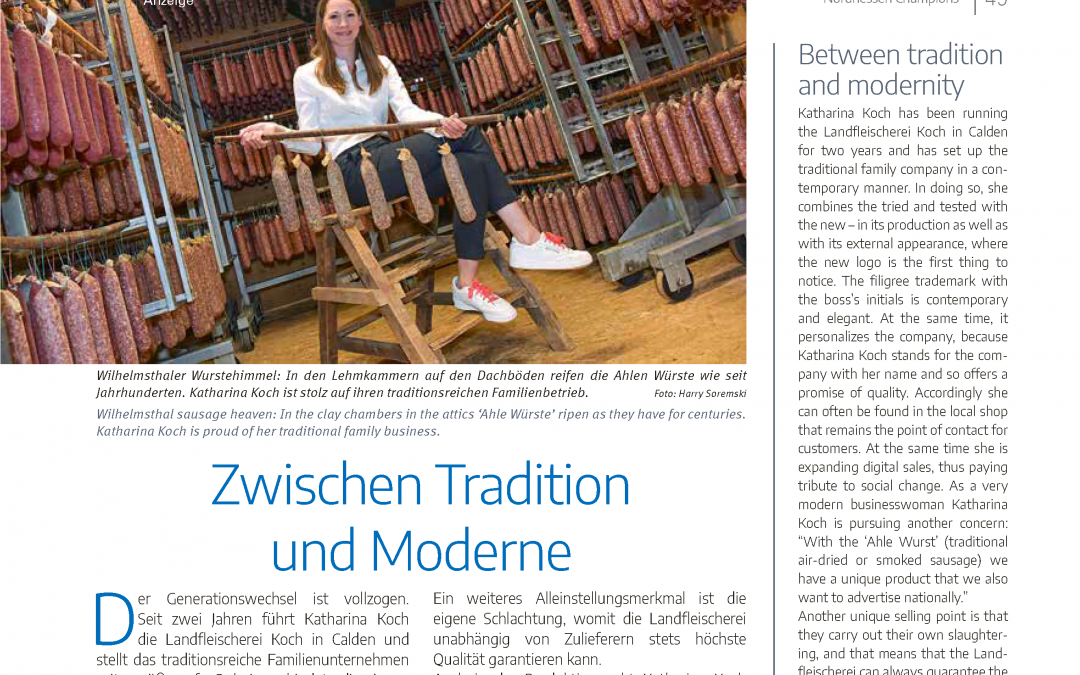 Zwischen Tradition und Moderne (Nordhessen Champions 2020)