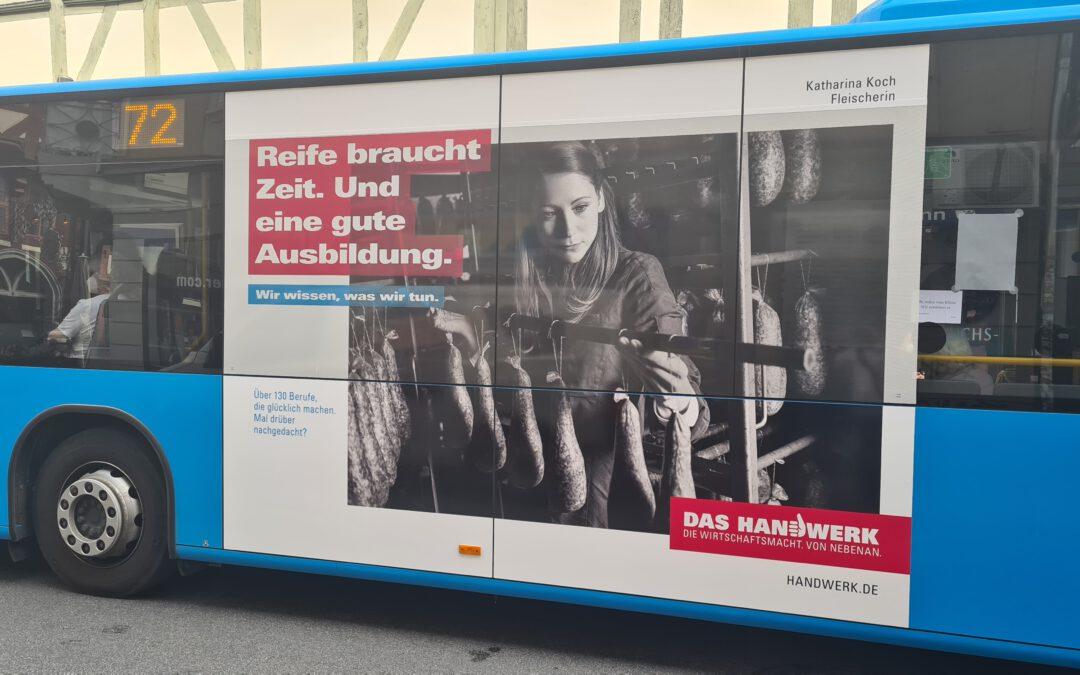 Katharina Koch ist Botschafterin der Handwerkskampagne